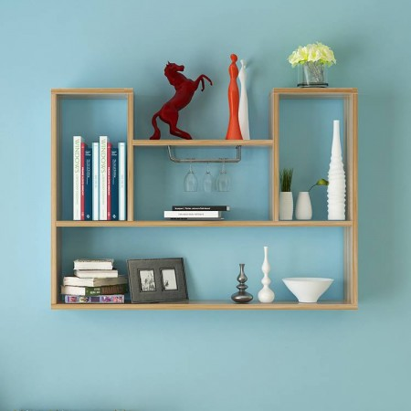 Giá sách treo tường đẹp mê hoặc
